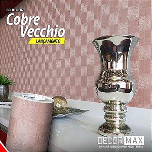 Adesivo Gold Firenze - Cobre Vecchio (Largura 1,22m) - VENDA POR METRO