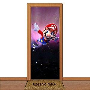Adesivo de Porta - Super Mario Bros