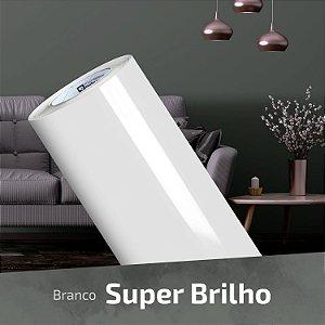 Adesivo DIGIMAX Branco Alto Brilho Laca (Largura 1,40m) - VENDA POR METRO