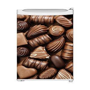 Adesivo Frigobar Porta - Chocolate