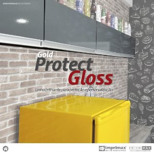 Adesivo Gold Protect Gloss Transparente (Rolo 5m x 1,40m)