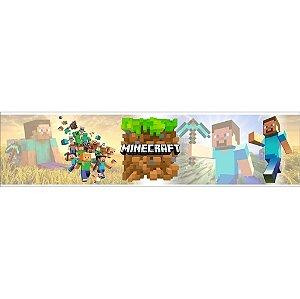 Faixa para Quarto Minecraft - VENDA POR METRO