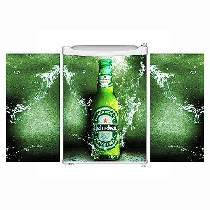 Adesivo Frigobar Completo - Heineken