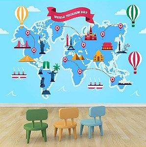 Mapa Mundi - World Tourism