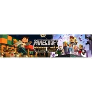 Faixa para Quarto Minecraft Story Mode - VENDA POR METRO