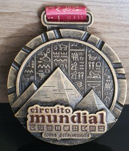 Medalha - Circuito Mundial Etapa Egito