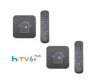 Kit de 2 Receptores Htv 6 Plus Ultra HD 16GB