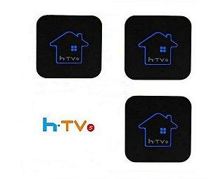 Kit de 3 Receptores Htv 5 HD 8GB