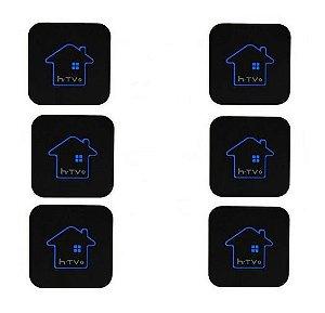 Kit de 6 Receptores Htv 5 HD 8GB