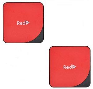 Kit de 2 Receptores Red Pro Ultra HD 4K 16GB