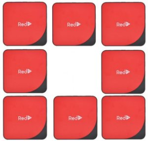 Kit de 8 Receptores Red Pro Ultra HD 4K 16GB