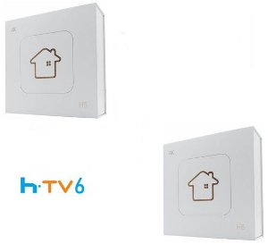 Kit de 2 Receptores Htv 6 Lite Ultra HD 8GB
