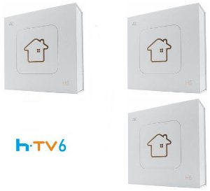 Kit de 3 Receptores Htv 6 Lite Ultra HD 8GB