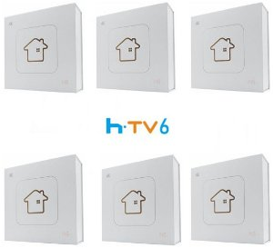 Kit de 6 Receptores Htv 6 Lite Ultra HD 8GB