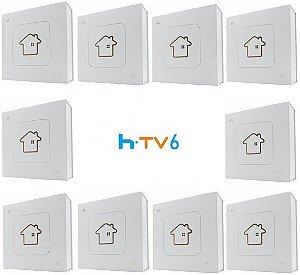 Kit de 10 Receptores Htv 6 Lite Ultra HD 8GB