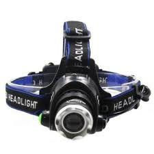 Lanterna De Cabeça  Headlight Com Zoom Ajustável