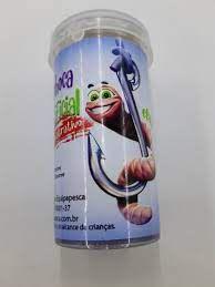 Minhoca Isca artificial com cheiro atrativo