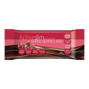 CH BAR ACTIVESLIM SUPER BERRIES RED