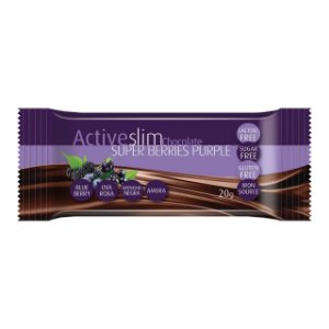 CH BAR ACTIVESLIM SUPER BERRIES PURPLE