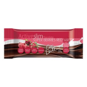 CH BAR ACTIVESLIM SUPER BERRIES RED AO LEITE