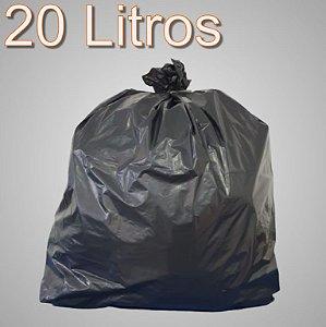 Saco de lixo 20 Litros Preto