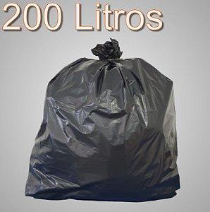 Saco de lixo 200 Litros Preto