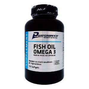 Óleo de Peixe - Fish Oil Ômega 3 (100 Cápsulas)