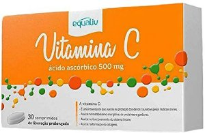 VITAMINA C EQUALIV 500G - 30 COMPRIMIDOS