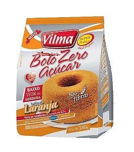 Mistura de Bolo sabor Laranja Zero Açúcar – Vilma – 340g