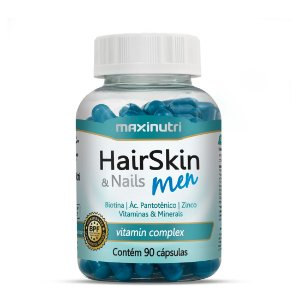 Hairskin & Nails Men Com 90 Cápsulas