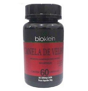 Canela De Velho 500 Mg 60 Cápsulas - Bioklein