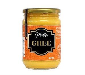 Manteiga Ghee 500g Clarificada Sem Lactose Sem Sal - Madhu