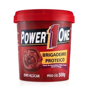 Pasta De Amendoim - 500g - Brigadeiro - Power One