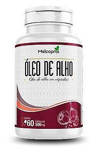 Óleo De Alho 120 Cápsulas 500mg Melcoprol
