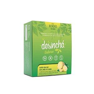 Desinchá - 30 Sachês - Abacaxi e Limão Siciliano