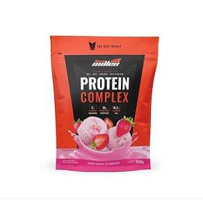 Whey Protein Complex Morango - 900g New Millen