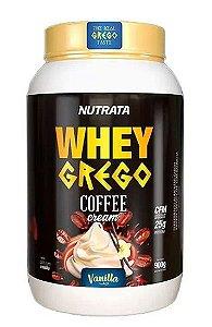Whey Grego Coffee Cream 900g - Nutrata