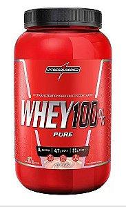 Whey 100% Pure IntegralMedica - 907g - Morango
