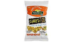 Chips Arroz Integral e Milho Mix de Leguminosas Sem Glúten Kodilar 70g