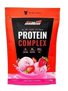 Whey Protein Complex a Morango - 1,800 kg New Millen