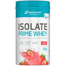 ISOLATE PRIME WHEY 900G MORANGO