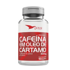 Duo cafeina com oleo de cartamo 110 mg 90 caps