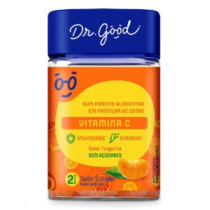 Dr good vitamina c tangerina 30 gomas