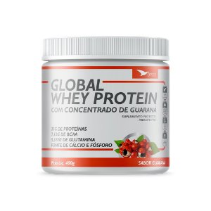 Whey com concentrado de guaraná  400g