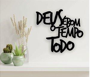 Quadro Decorativo de MDF vazado para parede