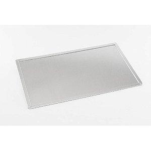 Forma Bolo De Rolo Em Alumínio 18x32,5cm