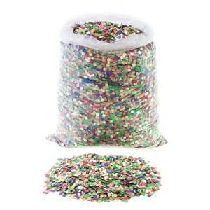 Confetes de Papel Colorido