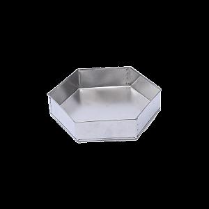 Forma para Bolo Sextavada em Alumínio 30cm