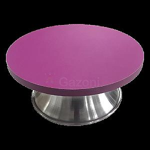 Bailarina Giratória em MDF e Aluminio - com Sistema de Esferas 30 cm - Rosa