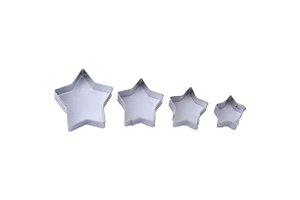 Cortador Estrela Micro 4 Peças Inox